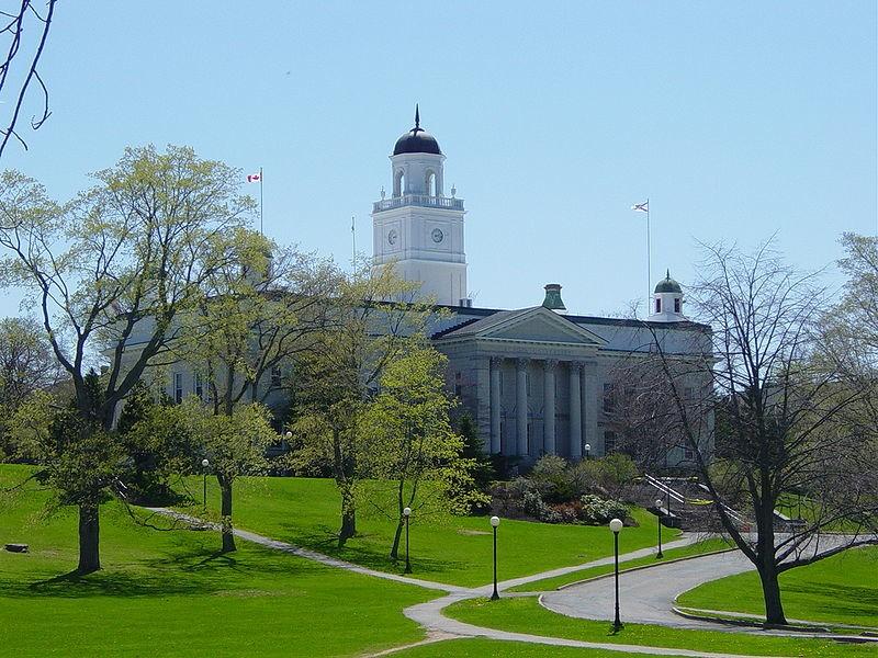 Acadia University Hall.