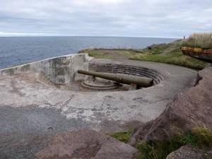 Gun at Cape Spear, Newfoundland.