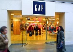 Gap store.