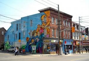 Cabbagetown, Toronto.