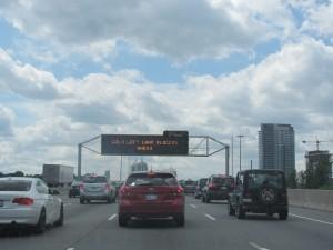 Toronto traffic.