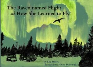kids; book about a raven.