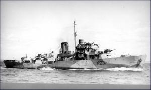 HMCS Calgary.