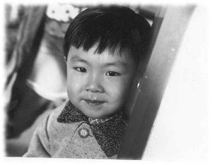 Child in Korea.