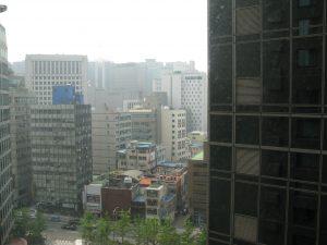 View of Seoul.