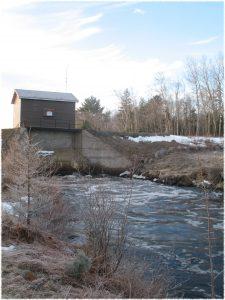 The dam.
