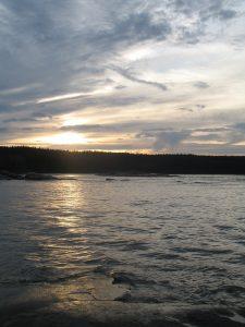 Slave River, NT.