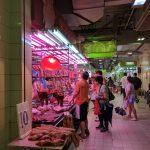 Wan Chai wet market.