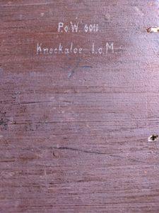 POW 6011 Knockaloe I.O.M.